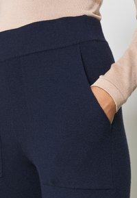YAS - YASSANNA - Trousers - navy blazer - 5