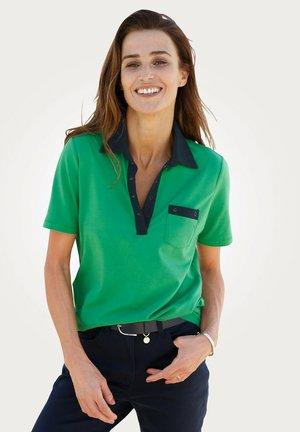 Polo shirt - grün,marineblau
