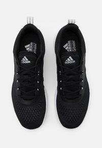 adidas Performance - TRAINER X - Obuwie treningowe - core black/footwear white/grey two - 3