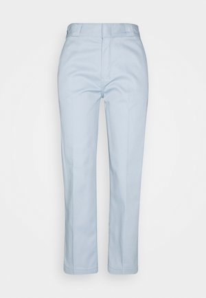 CROPPED - Trousers - fog blue