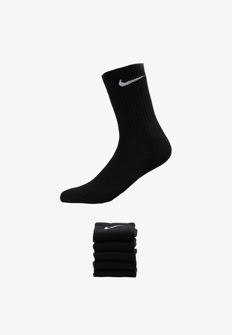Sentimiento de culpa Queja Ocupar  Nike Performance EVERYDAY CUSH CREW 6 PACK - Sports socks -  black/white/black - Zalando.co.uk