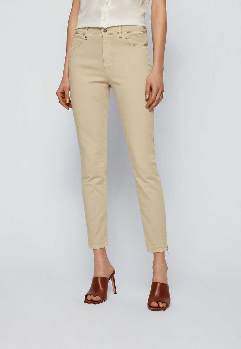 BOSS - Jeans Skinny Fit - beige