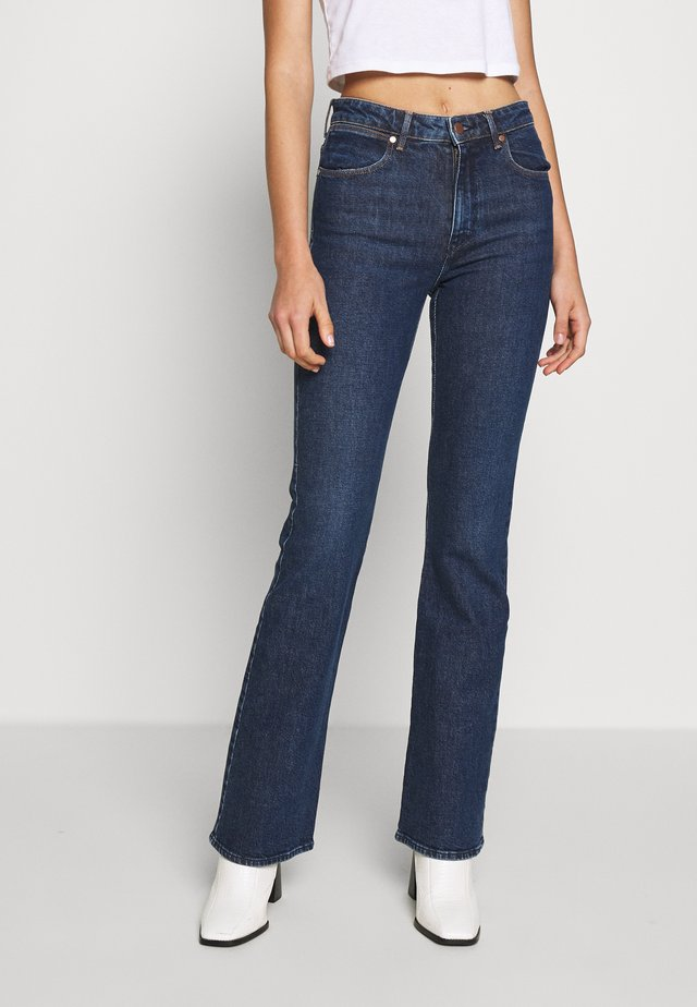 Flared jeans - authentic dark
