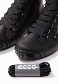 ECCO - SOFT 7 TRED - Sneakers alte - black - 7