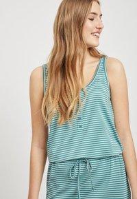 Object - OBJSTEPHANIE MAXI DRESS  - Maxi dress - light blue - 3