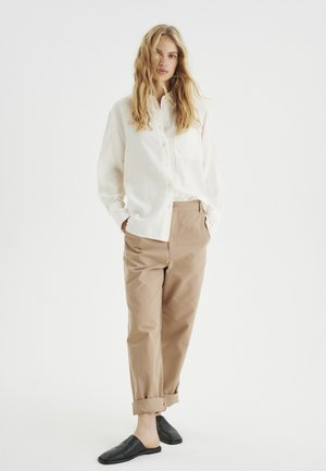 LOVAIW - Button-down blouse - whisper white