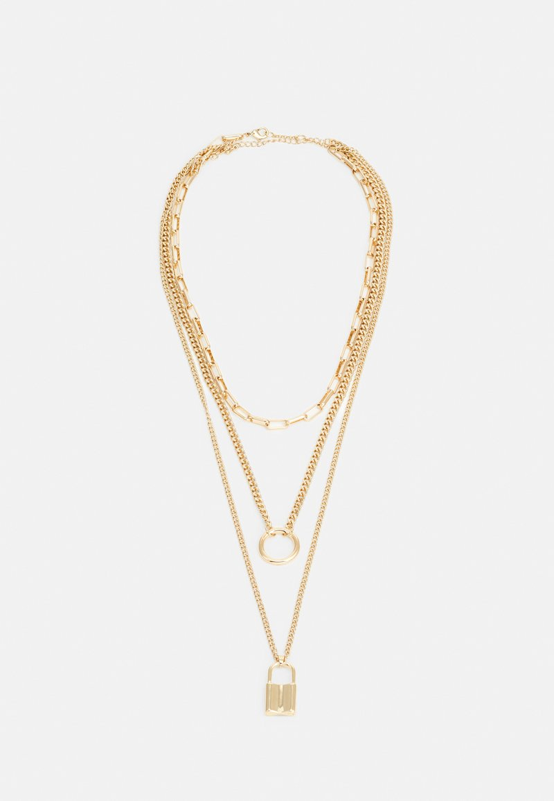 ONLY - ONLJILL NECKLACES 2 PACK - Collana - gold-coloured