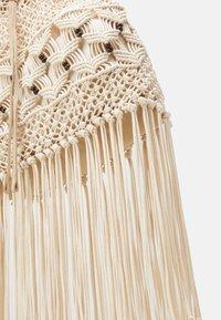 Alberta Ferretti - CROCHET SHOULDER BAG - Tote bag - beige - 3
