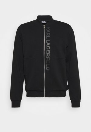 ZIP JACKET - Zip-up hoodie - black