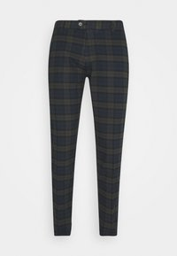 ERCAN CROPPED PANTS - Chino kalhoty - dark olive
