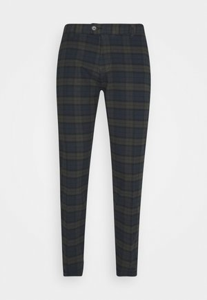 ERCAN CROPPED PANTS - Chinos - dark olive