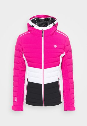 SUCCEED JACKET - Laskettelutakki - active pink/black