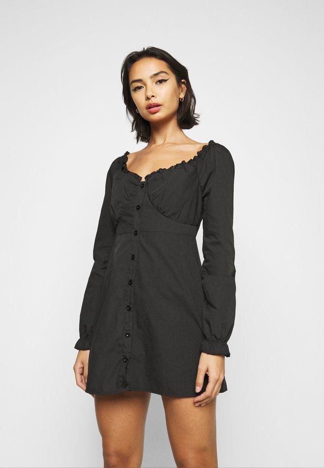 MILKMAID DRESS - Blousejurk - black