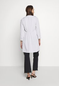 Wallis - WATERFALL DUSTER - Classic coat - silver - 2