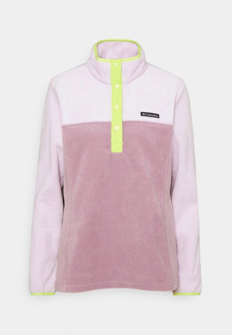 Columbia - BENTON SNAP - Fleece jumper - pale lilac/winter mauve