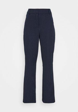 SHANGHAI TROUSER - Trousers - navy