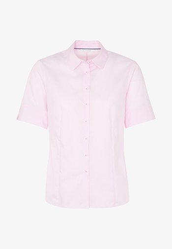 DAMEN  - Button-down blouse - pink/white
