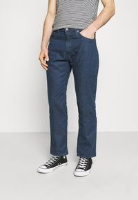 Levi's® - WELLTHREAD 551Z™ AUTHENTIC STRAIGHT - Straight leg jeans - dark indigo - 0
