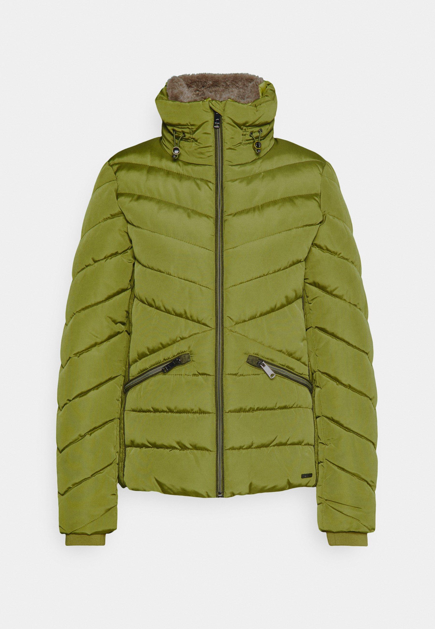 WINTERLY PUFFER JACKET Winterjas wood green