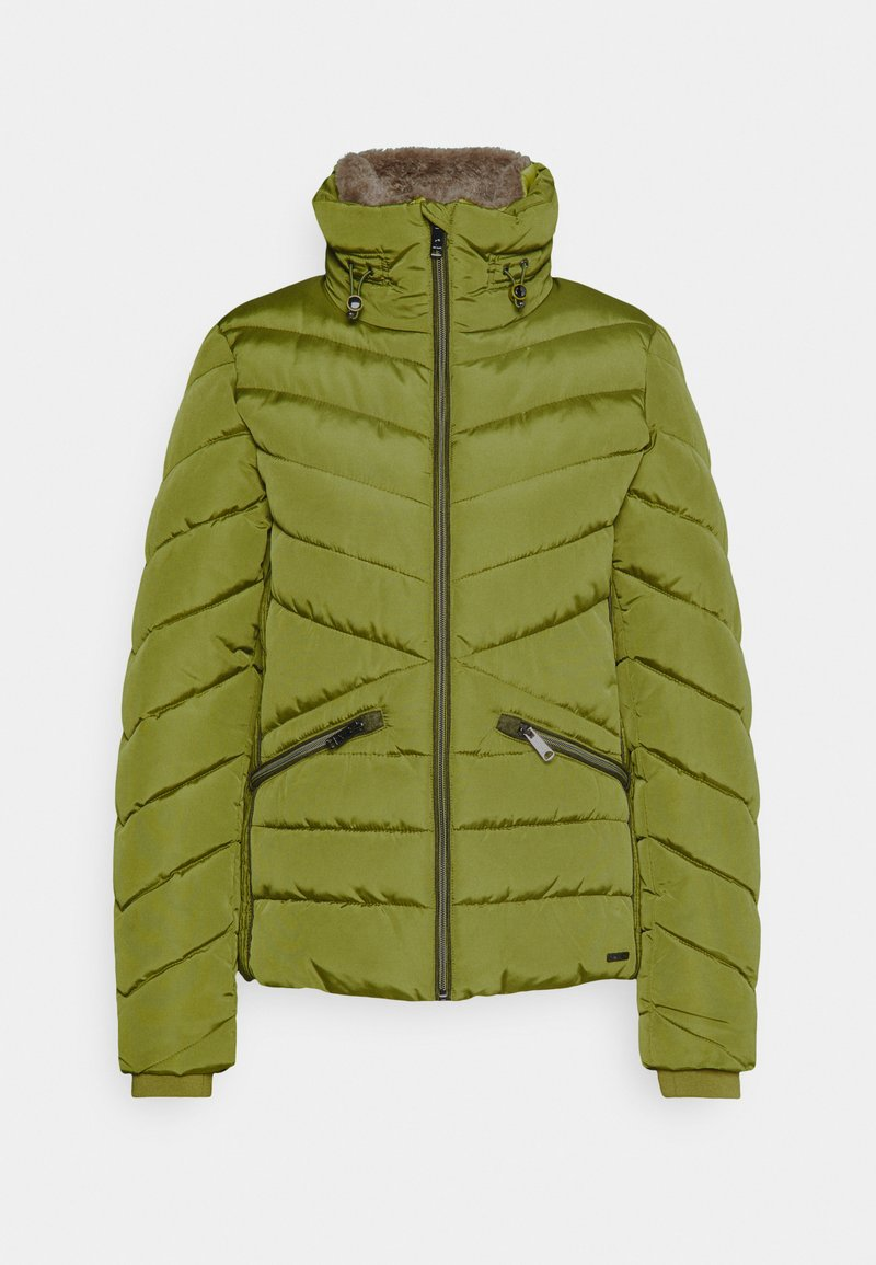 TOM TAILOR WINTERLY PUFFER JACKET - Winterjacke - california sand yellow/senf OBShzj