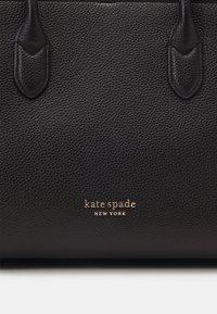 kate spade new york - LARGE SATCHEL - Handtas - black - 5