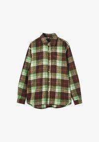 PULL&BEAR - Skjorta - mottled green - 5