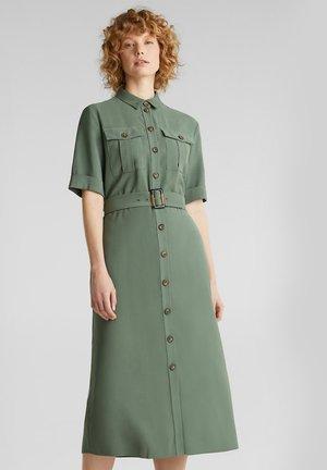 Skjortklänning - khaki green