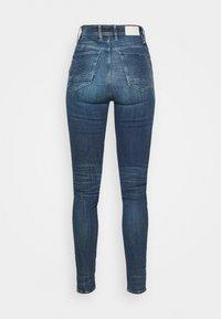 G-Star - KAFEY ULTRA HIGH SKINNY - Jeans Skinny Fit - antic faded baum blue - 2