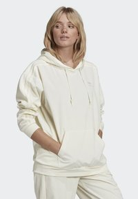 adidas Originals - SPORTS INSPIRED HOODED SWEAT - Felpa con cappuccio - owhite - 2