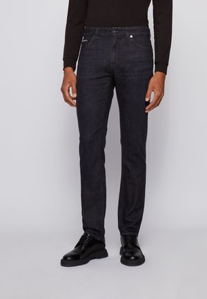 MAINE - Jeans Straight Leg - black