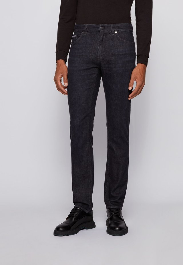 MAINE - Jeans a sigaretta - black