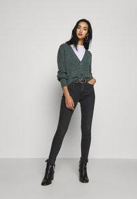 Topshop - JAMIE  - Jeans Skinny Fit - washed black - 1