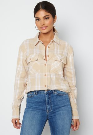 PIE  - Button-down blouse - beige