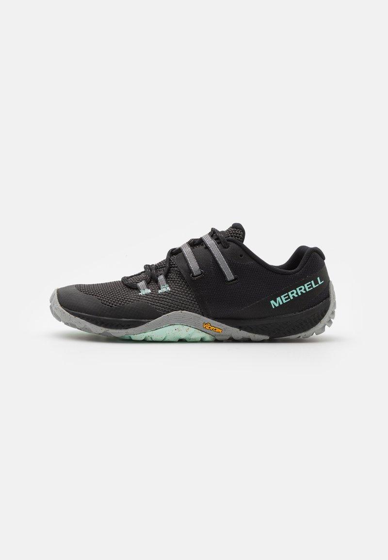 Merrell - TRAIL GLOVE 6 - Zapatillas de trail running - black