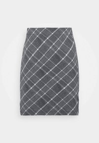 Basic mini skirt with slit - Minisukně - black/multi-coloured