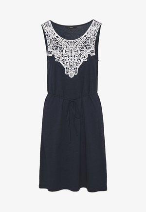 VMHELA SHORT DRESS - Žerzejové šaty - navy blazer