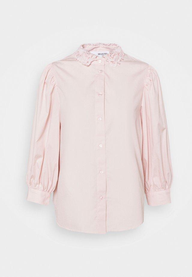 SLFROMANCE 3/4 PUFF SLEEVE - Skjorte - primrose pink