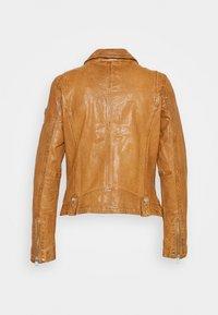 Gipsy - Leather jacket - camel - 8