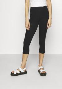 Even&Odd - 3/4 Length Legging - Leggings - Trousers - black - 0