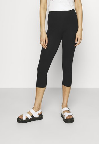 3/4 Length Legging - Leggings - Trousers - black