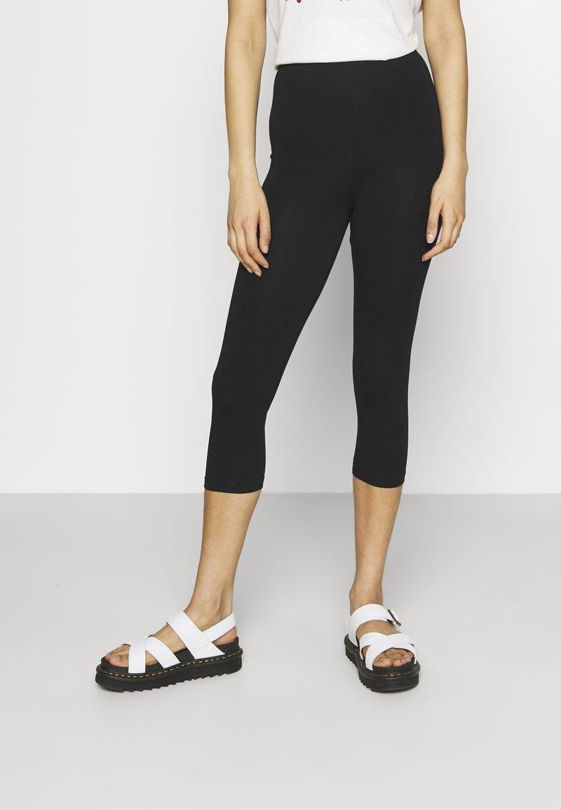 Even&Odd - 3/4 Length Legging - Leggings - Trousers - black