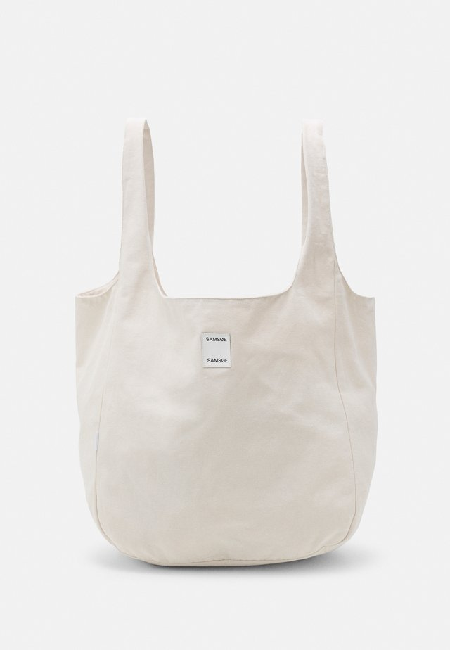 ANNE SOLID SHOPPER - Shopping Bag - warm white