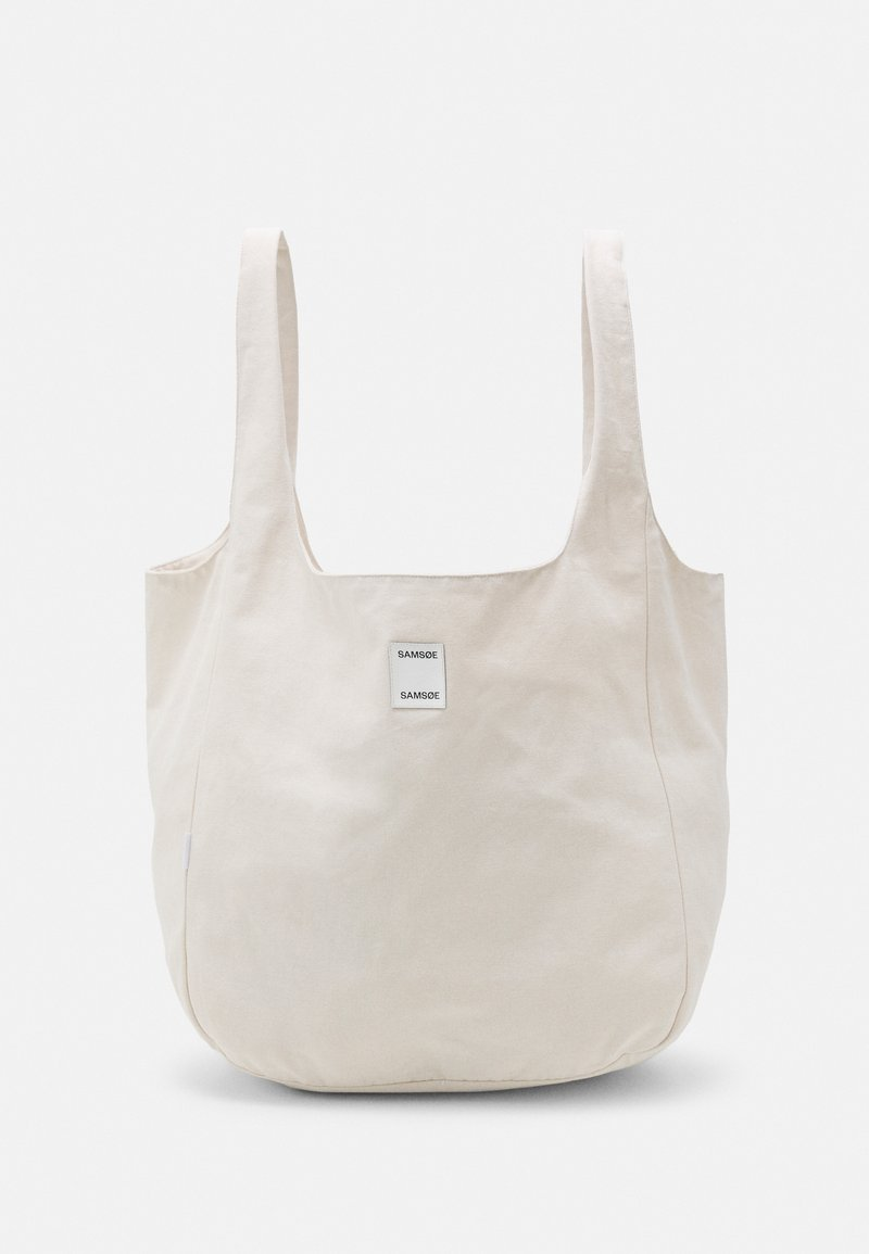 Samsøe Samsøe - ANNE SOLID SHOPPER - Tote bag - warm white