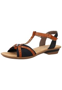 Rieker - Sandals - pazifik/cayenne - 1