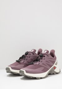 Salomon - SUPERCROSS  BLAST - Trail running shoes - flint/vanilla/vintage kaki - 2