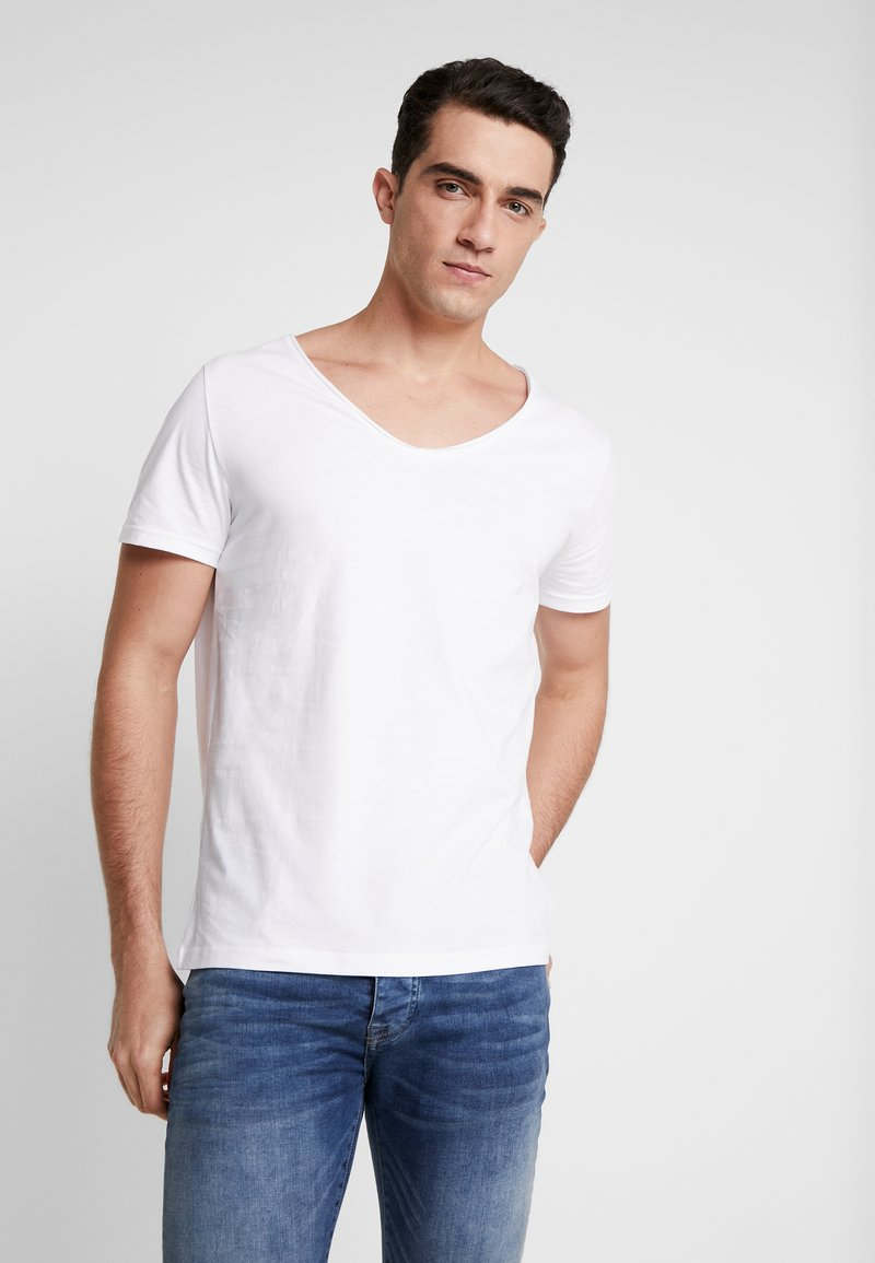 Pier One - T-shirt - bas - white