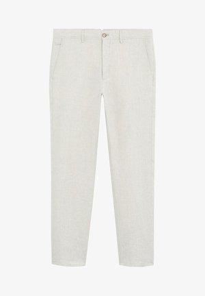 OYSTER - Spodnie materiałowe - ecru