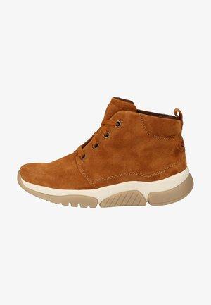 Platform ankle boots - autumn