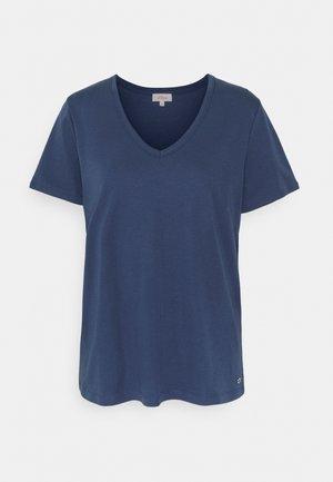 T-shirt - bas - faded blue