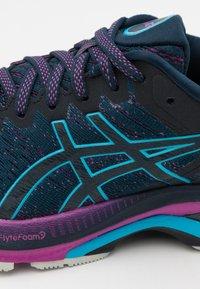 ASICS - GEL-KAYANO 27 - Stabilty running shoes - french blue/digital aqua - 5